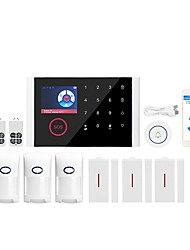 cheap -CS108 -WIFI+GSM Multi-network Language Wireless Gsm Burglar Alarm Wifi Gome Alarm Host Wireless Doorbell Alarm System Others / Home Alarm Systems / Alarm Host GSM + WIFI iOS / Android Platform GSM