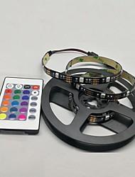 Недорогие -Usb светодиодные ленты 1 м 2 м 3 м 4 м мини 24key гибкий свет лампы рабочий стол декор экрана ТВ фоновое освещение