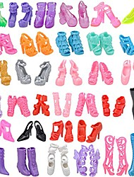cheap -Doll accessories Doll Shoes High Heel Sandal Chic & Modern 10 Pairs Plastic Multi Color For 11.5 Inch Doll Handmade Toy for Girl's Birthday Gifts  Random Color / Kids