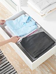 cheap -Plastic Closet Organizers Rectangle New Design Home Organization Storage  Storage stacking board clothes storage wardrobe storage board 1pc 35*29*5cm