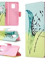 cheap -Case For Xiaomi Redmi Note 8T/Redmi Note 9 Pro Max/CC9 Pro Wallet / Card Holder / with Stand Full Body Cases Feathers PU Leather For Xiaomi Note 10 Pro/Redmi 8/8A/K30/Note 9S/K20/Redmi Note 8 Pro