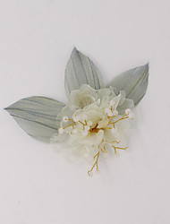 cheap -Sweet Style Chiffon / Alloy Hair Clip / Hair Accessory with Metal 1 PC Wedding / Party / Evening Headpiece