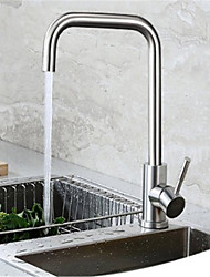 cheap -304 Stainless Steel Kitchen Faucet Hot And Cold Sitting Type Rotatable Sanitary Sink Vegetable Basin Faucet