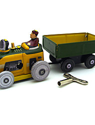 cheap -Iron Toy Truck Construction Vehicle Car Adorable Parent-Child Interaction Wind Up Clockwork Bus Family Art Deco / Retro Boys and Girls Adults Car Toys