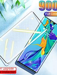 Недорогие -1 шт. / 2 шт. / 3 шт. / 5 шт. / 10 шт. Huawei p40 pro 3d изогнутое стекло cp max закаленное стекло защитная пленка для huawei p40 pro защитная пленка