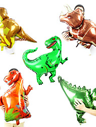 cheap -Party Balloons 10 pcs Dinosaur Balloon Party Favors Animals for Party Favors Supplies or Home Decoration / 14 Years & Up