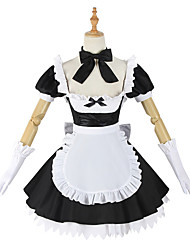 cheap -Inspired by Fate / Grand Order FGO Anime Cosplay Costumes Japanese Cosplay Suits Dress Gloves Socks For Women's / Bow / Bow Tie