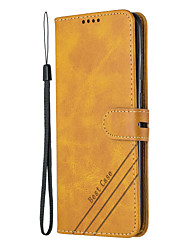 cheap -Case for Samsung Scene Picture Samsung Galaxy S20 S20 Plus S20 Ultra A51 A71 Solid color Niuwen series PU leather material card holder lanyard all-inclusive anti-fall mobile phone case HX