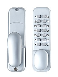cheap -Contemporary Electronic Keypad Single Cylinder Deadbolt with 1-Touch Motorized Locking, Satin Nickel