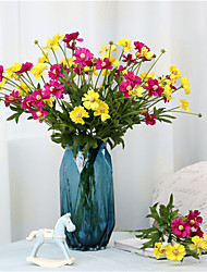 Недорогие -50 см дикая хризантема искусственный цветок гостиная журнальный столик дисплей украшения стола 1 палка