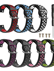 cheap -Silica Gel Watch Band Strap for Forerunner 35 23cm / 9 Inches 2.3cm / 0.91 Inches