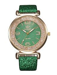 billige -Geneva Dame Digital Watch Minimalistisk Sølv Plast Kinesisk Digital Hvit Svart Blå Diamant Hverdagsklokke 30 m 1 stk Analog-digital Ett år Batteri Levetid