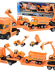 cheap -1:48 Metal Truck Race Car Backhoe Loader Wheel Excavator Plane Diecast Vehicle Construction Set Toys Car New Design Simulation Parent-Child Interaction Kids Car Toys