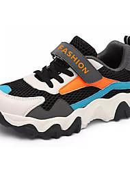 Недорогие -Мальчики Удобная обувь Полиуретан Спортивная обувь Большие дети (7 лет +) Беговая обувь Оранжевый / Серый Лето
