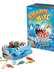 cheap -Board Game Animal Stress Reliever Shark Decompression Toys Parent-Child Interaction Plastic Kid's Adults' All Boys and Girls Toy Gift