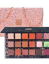 cheap -18 Colors Eyeshadow Glitter Pearl Matte Waterproof Eye Makeup Palette Shoulder Bag Style