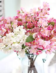 Недорогие -52.5см моделирования цветок свадьбы с цветами сакуры украшения дома 1 палка