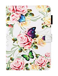 cheap -Case For Apple iPad 10.2 / iPad Mini 3/2/1 /Mini 4/5 Wallet / Card Holder / with Stand Full Body Cases Flower PU Leather For iPad Pro 9.7/New Air 10.5 2019/Air 2/2017/2018