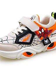 Недорогие -Мальчики Удобная обувь Полиуретан Спортивная обувь Большие дети (7 лет +) Беговая обувь Черный / Синий / Бежевый Весна
