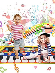 cheap -Keyboard Toy Music Mat Toy Floor 19 Piano Key Piano Playmat Educational Toys Cloth Boys and Girls Kids Graduation Gifts Toy Gift / CE Certified