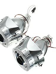 Недорогие -2,5-дюймовый h1 / h4 / h7 би-ксеноновый скрытый проектор для преобразования фар с объективом