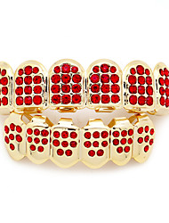 cheap -Teeth Set / Teeth Grills Statement Stylish Luxury Unisex Body Jewelry For Halloween Street Copper Blushing Pink Red Blue