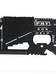 Недорогие -14 в 1 открытый многоцелевой нож карты зонтик инструмент выживания веревки