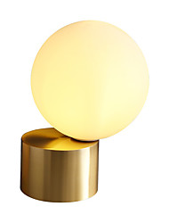 cheap -Table Lamp Decorative Simple / Nordic Style For Study Room / Office / Shops / Cafes Glass 220-240V / 100-120V Gold
