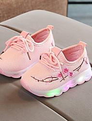 cheap -Girls' Comfort PU Sneakers Little Kids(4-7ys) White / Black / Pink Spring