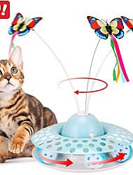 Недорогие -Дразнилки Интерактивная игрушка Коты Животные Игрушки Фокусная игрушка Алюминий пластик Подарок