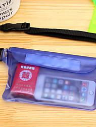 Недорогие -Защитная сумка Мобильный телефон сумка для Легкость Дожденепроницаемый Пригодно для носки 6 дюймовый ПВХ 3 m