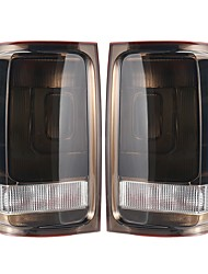 cheap -Car Rear Left / Right Tail Light Assembly Brake Lamps with No Bulbs for VW Amarok UTE 2010-UP