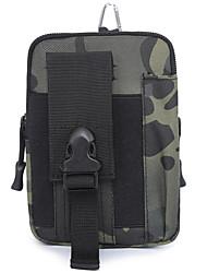Недорогие -Универсальные Молнии Нейлон Поясная сумка Геометрический рисунок Черный / Коричневый / Серый