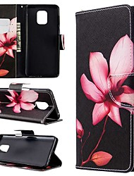 cheap -Case For Xiaomi Redmi Note 8T/Redmi Note 9 Pro Max/CC9 Pro Wallet / Card Holder / with Stand Full Body Cases Flower PU Leather For Xiaomi Note 10 Pro/Redmi 8/8A/K30/Note 9S/K20/Redmi Note 8 Pro