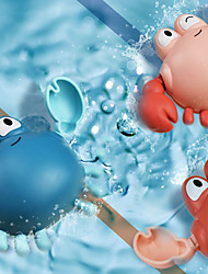 Недорогие -Игрушки для купания Игрушка для рыбалки Игрушки для бассейна Игрушка для ванны с водой Игрушки для ванной Игрушка для ванной Краб пластик Плавающий Заводиться Плавание / Детские