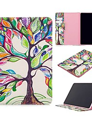 cheap -Case For Apple iPad Air / iPad 4/3/2 / iPad Mini 3/2/1 Wallet / Card Holder / with Stand Full Body Cases Tree PU Leather