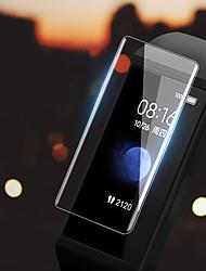 Недорогие -2 шт протектор экрана для xiaomi redmi band закаленное стекло прозрачное высокое разрешение (hd) царапинам / твердость 9 ч