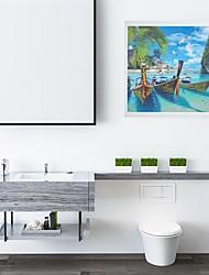 Недорогие -ванная комната складной шкаф положить одежду артефакт туалет росписи шкаф для хранения туалет бесплатный удар настенная полка висит