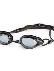 Недорогие -плавательные очки плавательные очки Противо-туманное покрытие Удобный Безопасность Для Взрослые Поликарбонат зеленый розовый серый