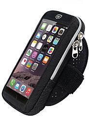 cheap -Phone Armband Running Armband for Running Hiking Outdoor Exercise Traveling Sports Bag Reflective Adjustable Waterproof Nylon Neoprene Men's Women's Running Bag Adults