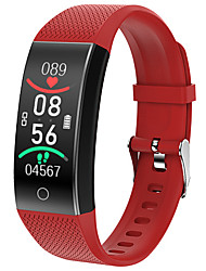 cheap -QW18T Unisex Smart Wristbands Bluetooth Touch Screen Heart Rate Monitor Blood Pressure Measurement Long Standby Health Care ECG+PPG Pedometer Activity Tracker Sleep Tracker Community Share
