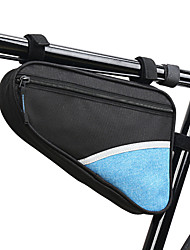 cheap -B-SOUL 2 L Bike Frame Bag Top Tube Triangle Bag Waterproof Cycling Wearable Bike Bag Terylene Waterproof Fabric Bicycle Bag Cycle Bag