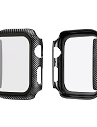 cheap -Cases For Apple Watch Series 4/3/2/1 / Apple Watch Series 3 / Apple Watch Series 2 Plastic Compatibility Apple