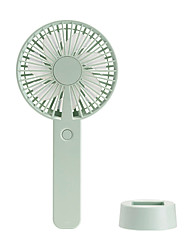 cheap -1PCs Handheld Personal Mini Fan USB Rechargeable Portable Fan Cooler With Strap Adjustable 3 Speed For Office Outdoor Travel