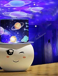 cheap -Baby & Kids' Night Lights Projector Lights Moon Star Starry Night Light LED Lighting Focus Toy Exquisite 36 V USB Adults Kids for Birthday Gifts and Party Favors  Home