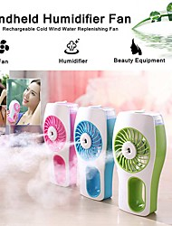 cheap -Handheld Misting Fan Mini USB Rechargeable Battery Operated Misting Fan Portable Personal Fan with Spray Bottle