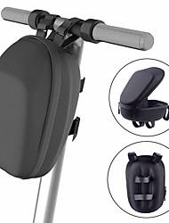 cheap -Bike Frame Bag Top Tube Bike Handlebar Bag 6 inch Cycling for Dark Gray Black Recreational Cycling