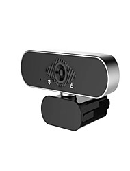 cheap -USB 2.0 Webcam Full HD 1080P Web Camera Ashu H601 Video Recording Web Camera With Microphone Metal Edging Design For PC Laptop Not Webcam Autofocus
