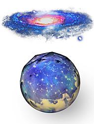 Недорогие -проектор туманности форма земли небо проектор свет изменение цвета творческий уникальный ночник украшения дома творческий подарок 220-240 В