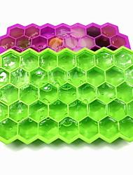 Недорогие -37-ячеистая силиконовая сетка для льда с крышкой с творческим дизайном для упаковки со льдом